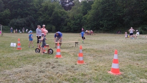 pro kamarády a další děti připravil za pomoci rodičů krásné sportovní odpoledne