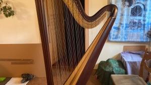 Nová harfa pro talentovanou umělkyni Miriam