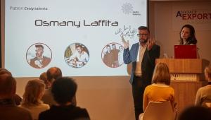Představili jsme patrona nadačního fondu Cesta talentu, známého módního návrháře, Osmanyho Laffitu.