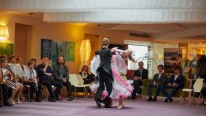 Vystoupení talentovaných tanečníků Báry a Jardy