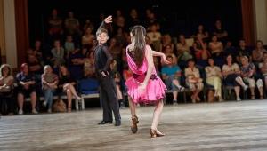 """a taneční partnerkou Maruškou """"v akci"""""""