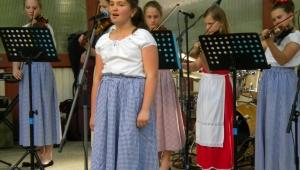 Magda při dalším vystoupení