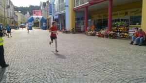 Ráda se účastní závodů v přespolím běhu